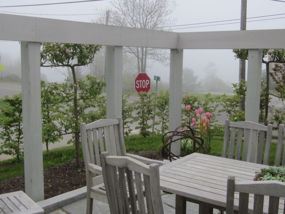 Rockport, Maine terrace