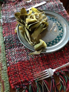 artichoke after eating