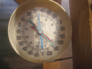 greenhouse thermometer